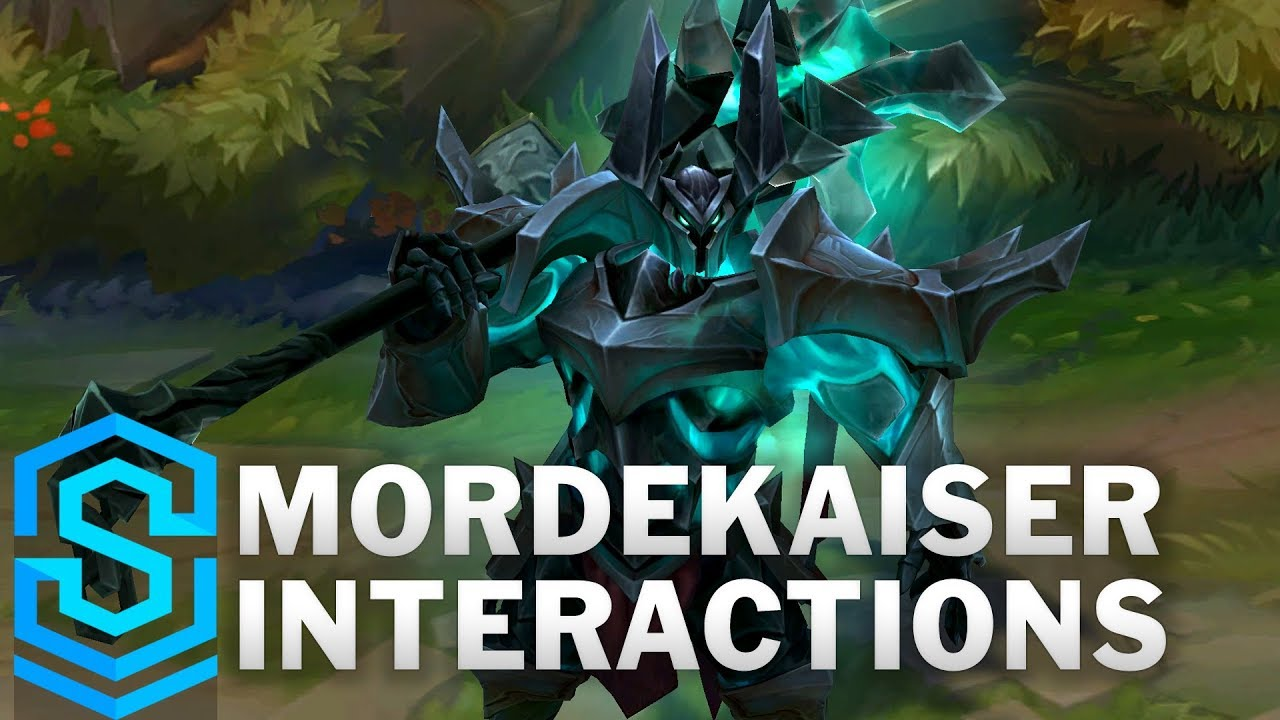 Mordekaiser Special Interactions