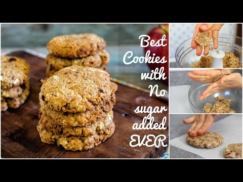 HOW TO MAKE the BEST Oatmeal Raisin Cookies | Easy Recipe | No butter | No eggs | No sugar added