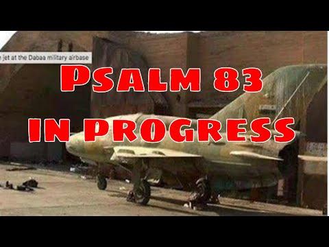 Psalm 83 is underway - Jerusalem Encompassed by Armies