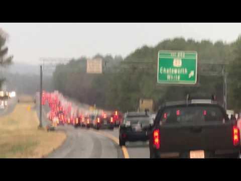 Traffic in I - 75 Atlanta, GA to Chattanooga, TN
