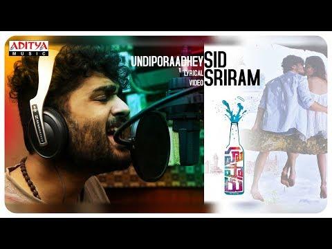 Xxx Mp4 Undiporaadhey Lyrical Hushaaru Songs Sree Harsha Konuganti Sid Sriram Radhan 3gp Sex