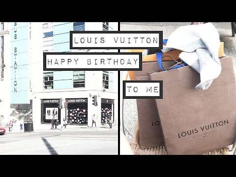 Louis Vuitton // Birthday Unboxing's