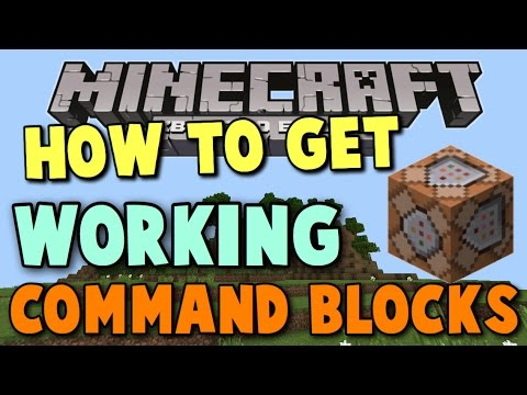 Minecraft Xbox 360 how to get working command blocks