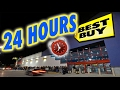 Scary 24 Hour Overnight In Best Buy Locked Overnight Challenge In Best Buy Fort mp3
