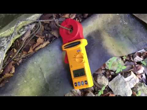 Dock Lifeguard - Measuring Ground Rod resistance at the house