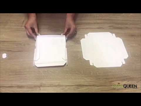 How to Fold your PACKQUEEN Box - Invitation Boxes