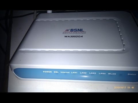 How to change WiFi password in UTSTAR wa3002g4 ADSL WiFi modem