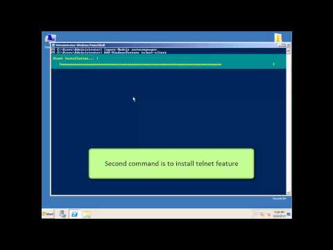 How to install and send Email via Telnet