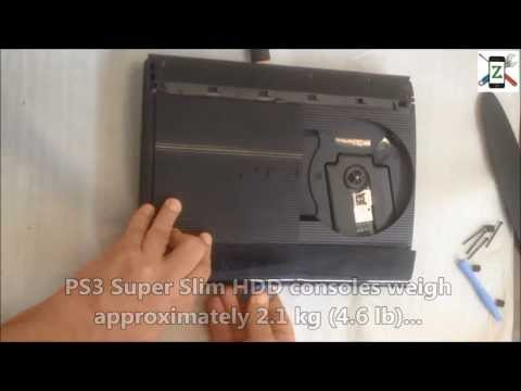 PlayStation 3 Super Slim - Blu-Ray Laser Unit Replacement.