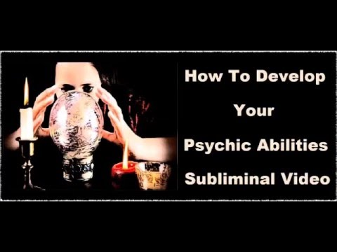 How To Develop PSYCHIC Powers - Subliminal THIRD EYE Activation Affirmations Recording
