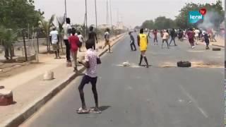 Très grande manifestation à Touba: Vive tension entre les chauffeurs et policiers