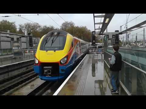 Trains at: St Pancras International, MML/HS1, 14/11/16