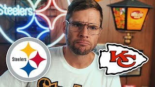Dad Reacts to Steelers vs Chiefs (Week 2)