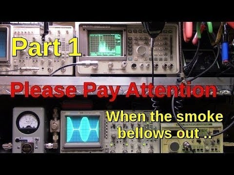 CB Radio and Linear amps .. Thinking about an amplifier?  Pay attention video #1