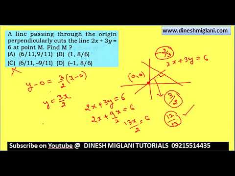 COORDINATE GEOMETRY PRACTICE SESSION FOR SSC CGL CHSL EXAM