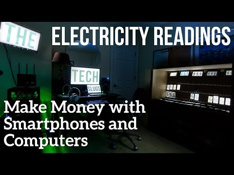 Electricity Costs of My Money Room