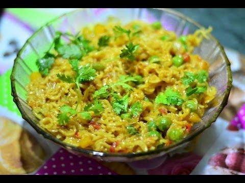 Street Masala Maggi (Easy Evening Snacks) @ Guru's Cooking