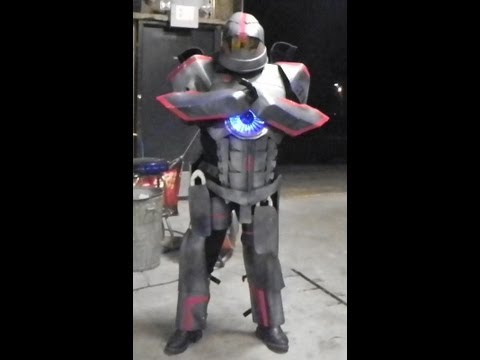 My Gipsy Danger Costume Build