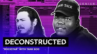 """The Making Of Post Malone's """"rockstar"""" With Tank God 