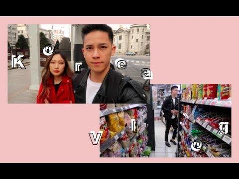 Korea Couple Vlog | Myeongdong Shopping, Street Food, Hongdae