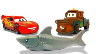 Disney Cars Lightning McQueen & Mater Amazing Discovery Kids Toys Lego Ninjago, Deep Sea Baby Shark