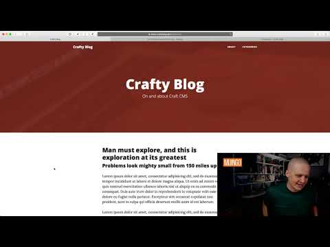 Building a Blog in Craft CMS