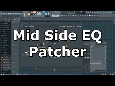 Patcher Mid Side EQ Tutorial (FL Studio)