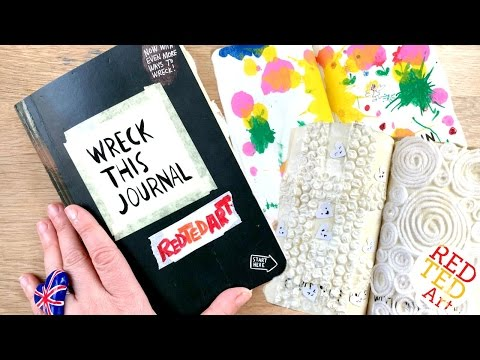 Easy Wreck This Journal with Me - PART 1 - Simple & Easy Inspiration for YOU