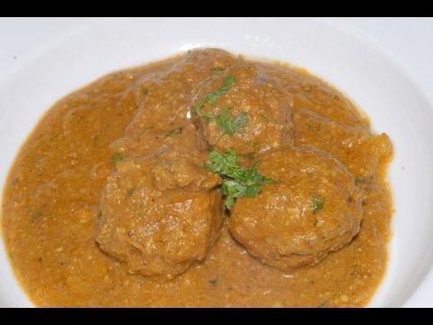 Kofta Curry Lamb - By Vahchef @ Vahrehvah.com
