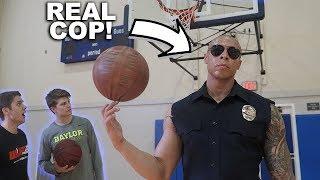 THE TRICK SHOT COP RETURNS! *Crazy Challenge Ending!*