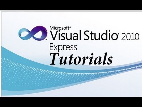 Visual Basic 2010 Express Tutorial - 1 - Making your first program