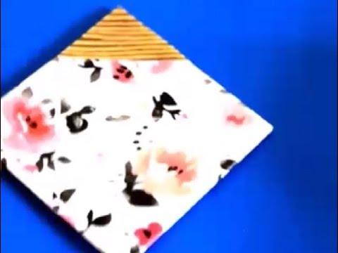 {DIY} Cardboard Coasters