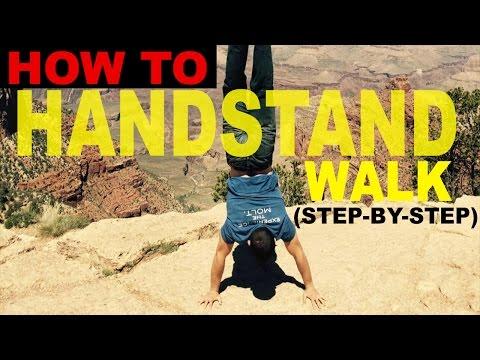 How to Handstand Walk! (WODprep Progression)