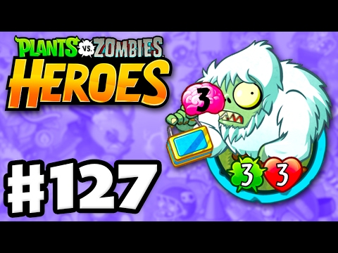 Zombie Yeti! - Plants vs. Zombies: Heroes - Gameplay Walkthrough Part 127 (iOS, Android)