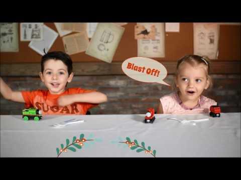 Kids Eat: 100% Angus Beef Burger & Cornflake Crusted Chicken Strips