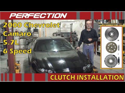 2000 Chevrolet Camaro 5.7L 6 Speed Clutch Installation