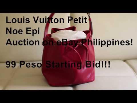 Louis Vuitton Philippines Auction 99 Peso Starting Bid on eBay Philippines!