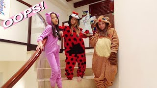 "ULTIMATE ""STRANGER THINGS'' ONESIE BATTLE  W/PIPER ROCKELLE & COCO QUINN!!