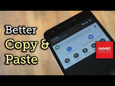 Enhance Android's Copy & Paste Menu with Custom Actions [How-To]