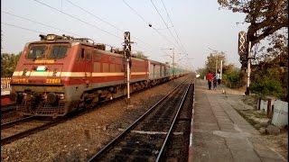 A sequel!! A furious Humsafar chases a thundering Shatabdi!! 2 Premium trains at their very best!!