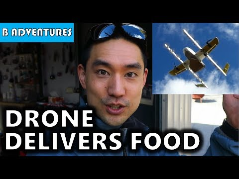 Drone Delivers Burrito, Project Wing Australia