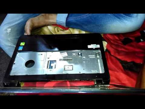 How to disassemble and motherboard change HP 15-r007tx