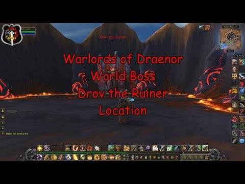 World Boss Drov the Ruiner Location (Warlords of Draenor)