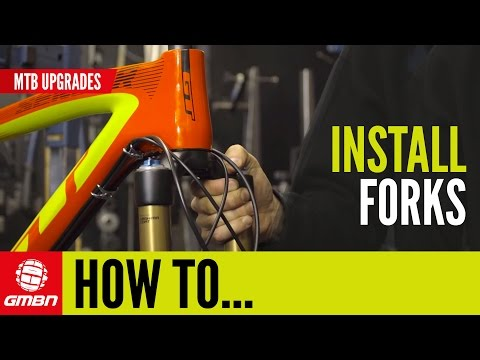 How To Install Forks | MTB Maintenance