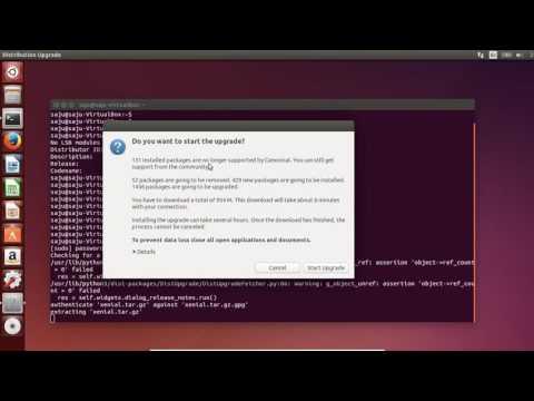 How to upgrade Ubuntu 14.04 to 16.04 LTS