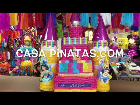 Princesses Castle Pinata 2 Birthday Pianata