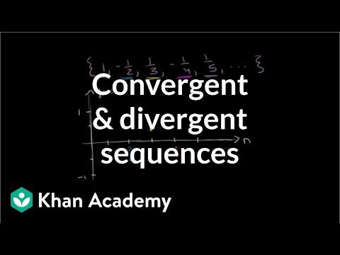 Convergent and divergent sequences | Series | AP Calculus BC | Khan Academy
