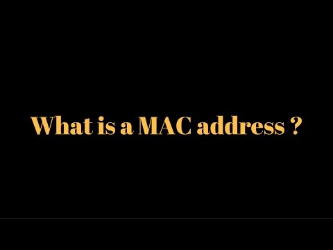 Define MAC address | Define Physical Address