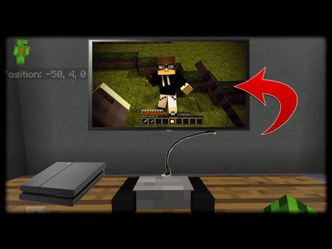 Minecraft PE | How to Make a Working PS4 (No Mods Or Addons)