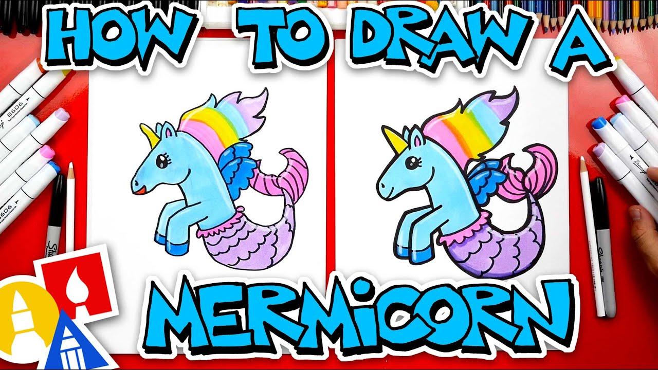 How To Draw A Mermicorn